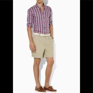 Polo Ralph Lauren Khaki Classic Shorts